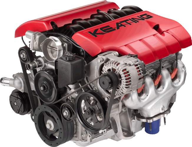 Keating Supercars LS7 Engine