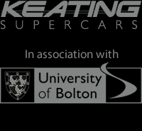 Keating Supercars in Partnership with Bolton University